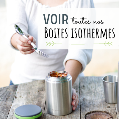 Boites repas isothermes inox longue conservation