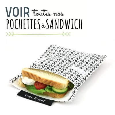 Pochettes et sacs à sandwich sans pastique www.sans-bpa.com