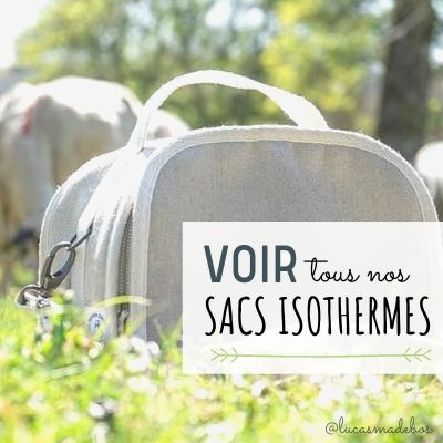 Différents sacs isothermes sans plastique sur www.sans-bpa.com